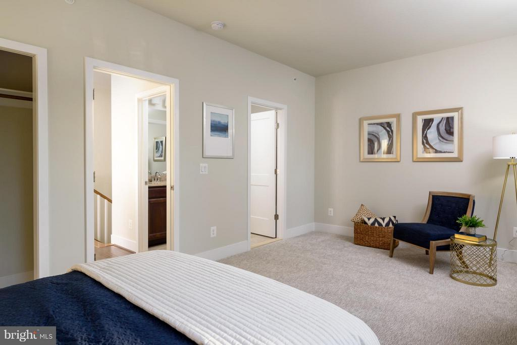 Bedroom - 11687 SUNRISE SQUARE PL #12, RESTON