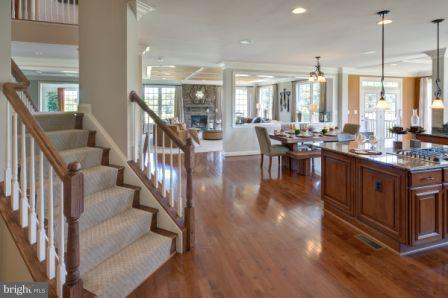 Open Plan for easy entertaining - 3005 WEBER PL, OAKTON