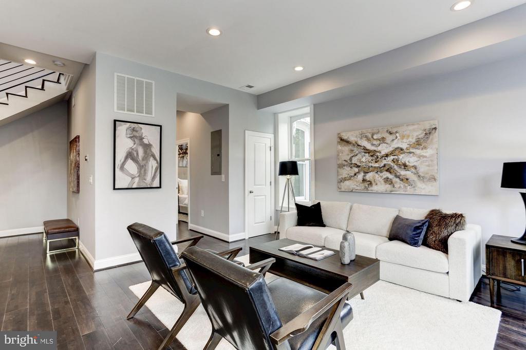 Living Room - 1901 3RD ST NW #2, WASHINGTON