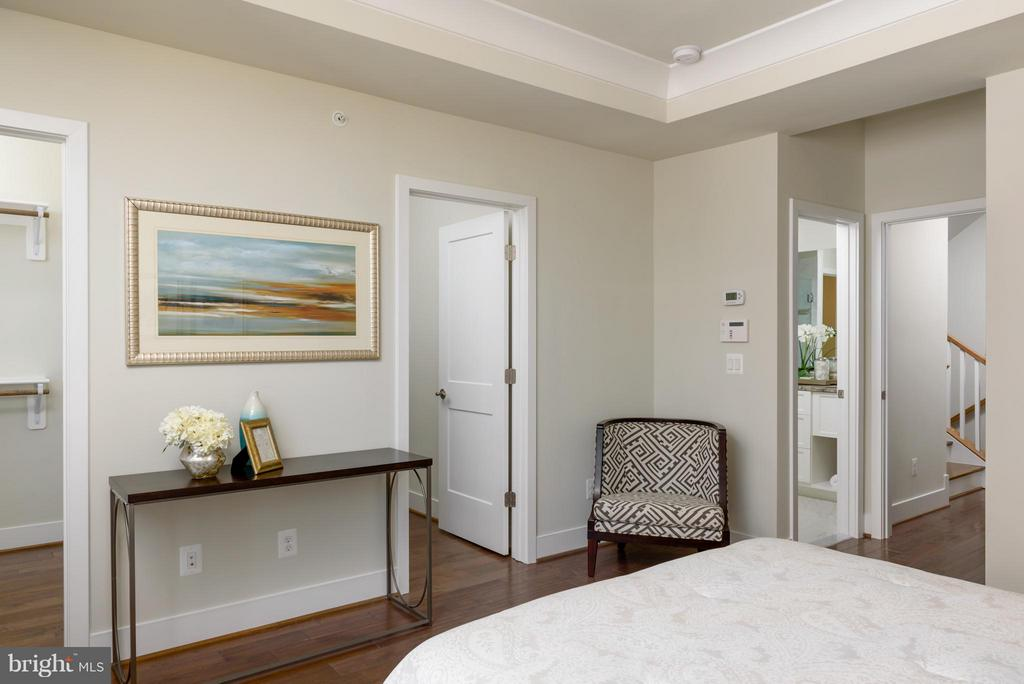 Bedroom (Master) - 11687 SUNRISE SQUARE PL #12, RESTON