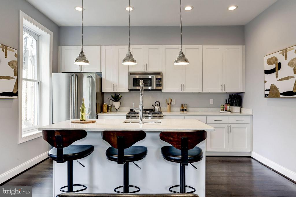 Kitchen - 1901 3RD ST NW #2, WASHINGTON