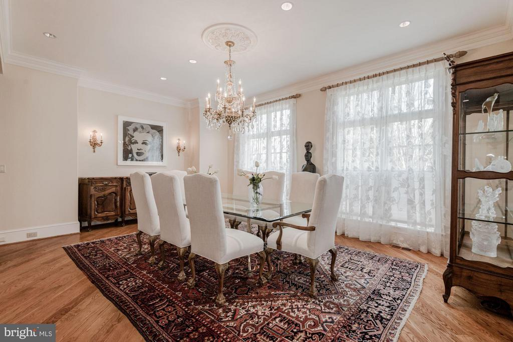 Dining Room - 7515 EXETER RD, BETHESDA