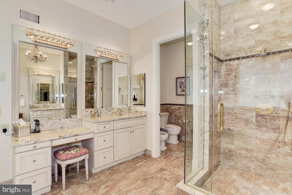 Main Level, Master Bathroom - 7515 EXETER RD, BETHESDA