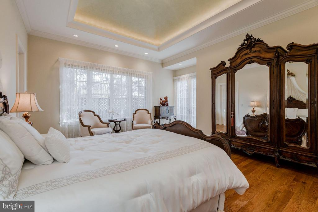 Main Level, Master Bedroom - 7515 EXETER RD, BETHESDA