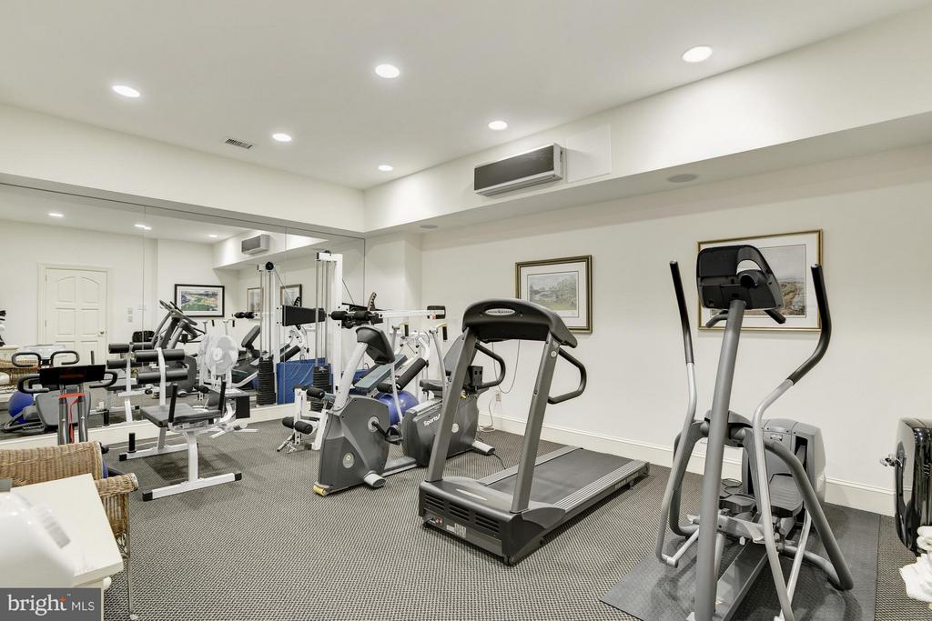 Exercise Room - 7515 EXETER RD, BETHESDA