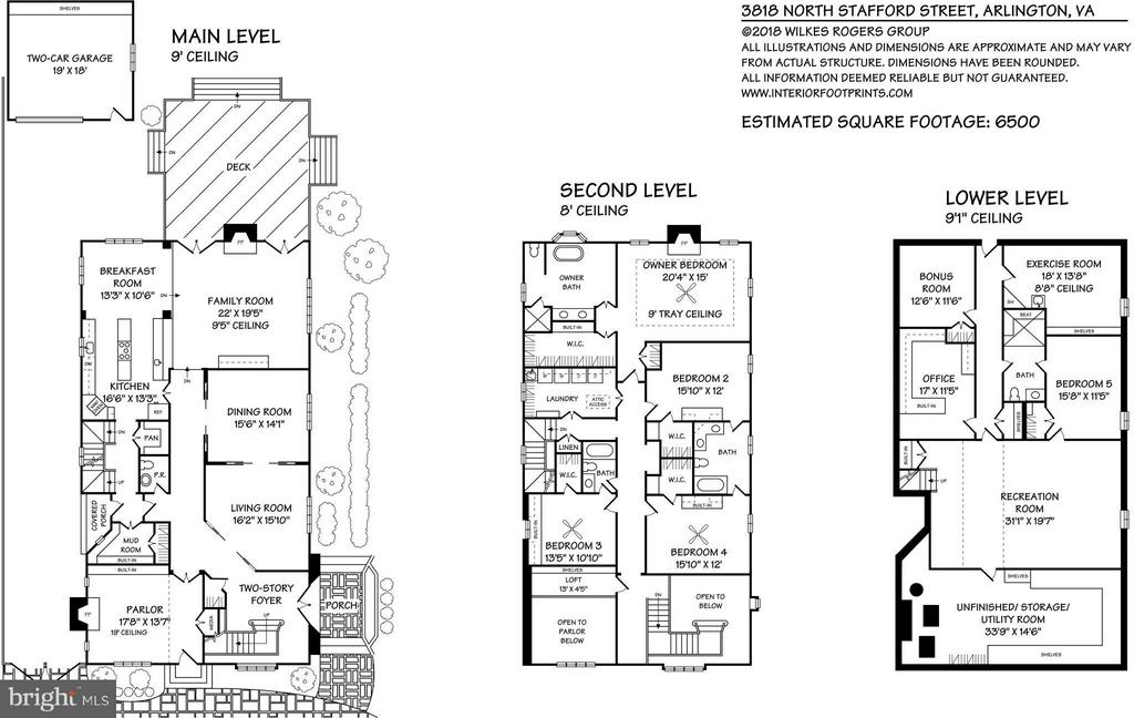 3818 N Stafford Floor Plans - 3818 STAFFORD ST N, ARLINGTON