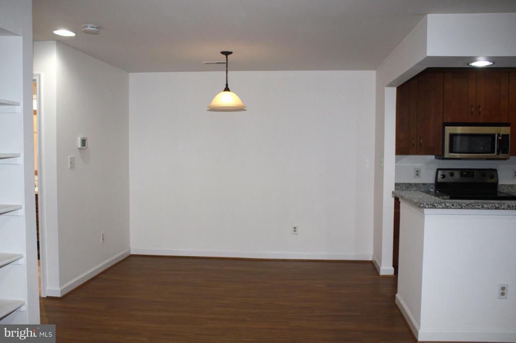 Dining Room - 13609 SIR THOMAS WAY #1-C-21, SILVER SPRING