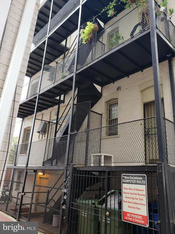Exterior (Rear) - 1822 15TH ST NW #201, WASHINGTON