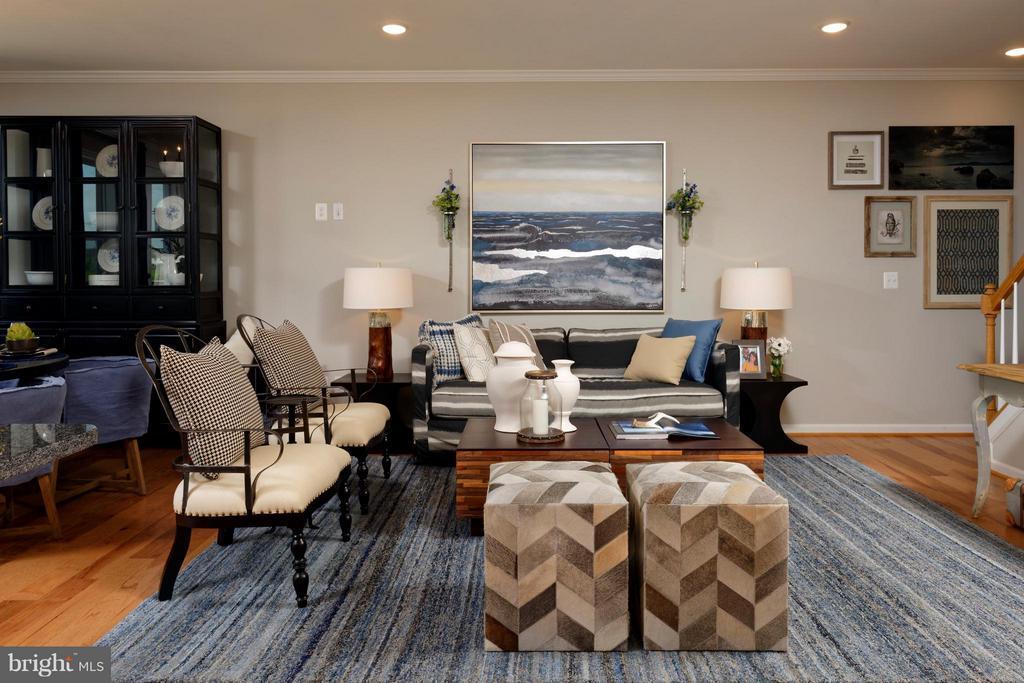 Living Room - 42002 NORA MILL TER, ALDIE