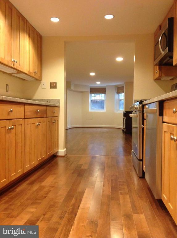Basement Apt Kitchen - 1731 RIGGS PL NW, WASHINGTON