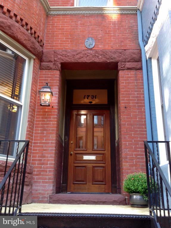 Exterior (Front) - 1731 RIGGS PL NW, WASHINGTON