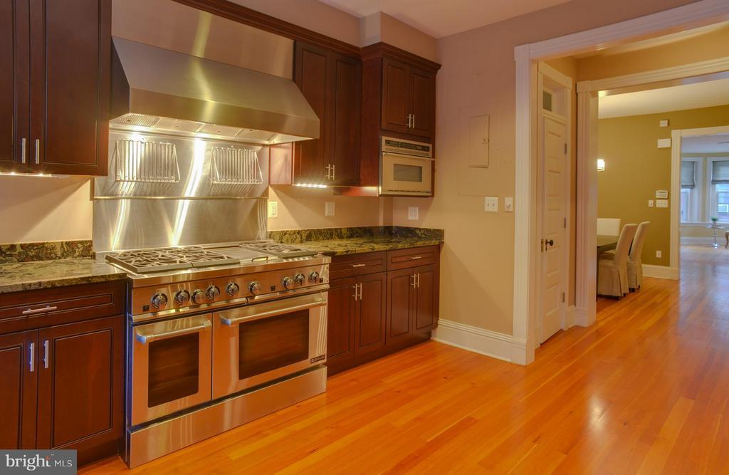 Upper Floor Apt Kitchen - 1731 RIGGS PL NW, WASHINGTON