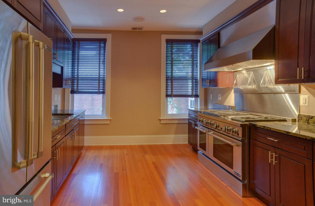 Owner's Unit Kitchen - 1731 RIGGS PL NW, WASHINGTON