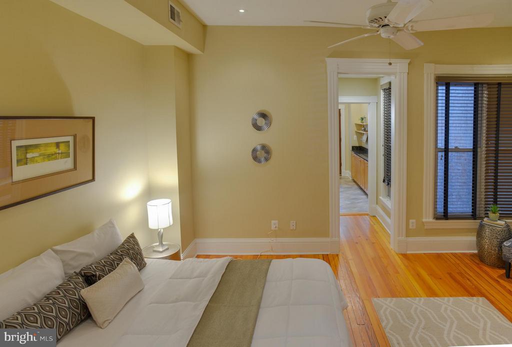First Floor Apt Bedroom - 1731 RIGGS PL NW, WASHINGTON