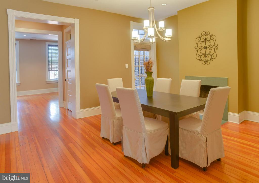 Owner's Unit Dining Room - 1731 RIGGS PL NW, WASHINGTON