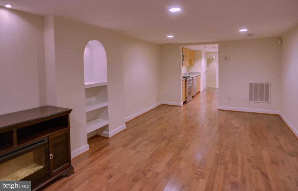 Basement Apt Living Room - 1731 RIGGS PL NW, WASHINGTON