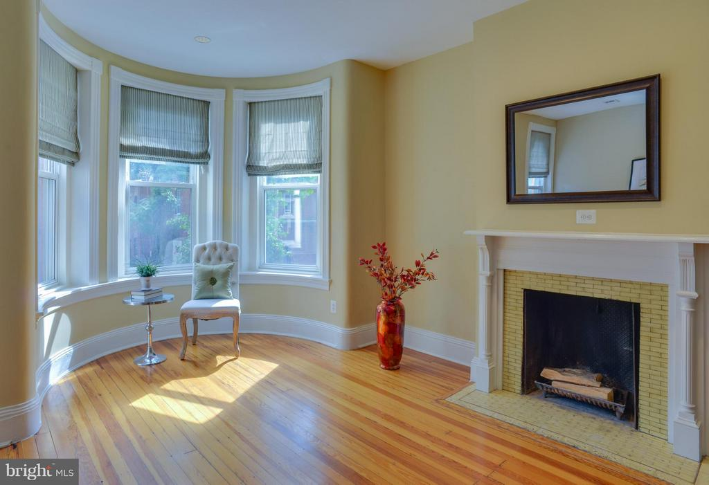Owner's Unit Living Room - 1731 RIGGS PL NW, WASHINGTON