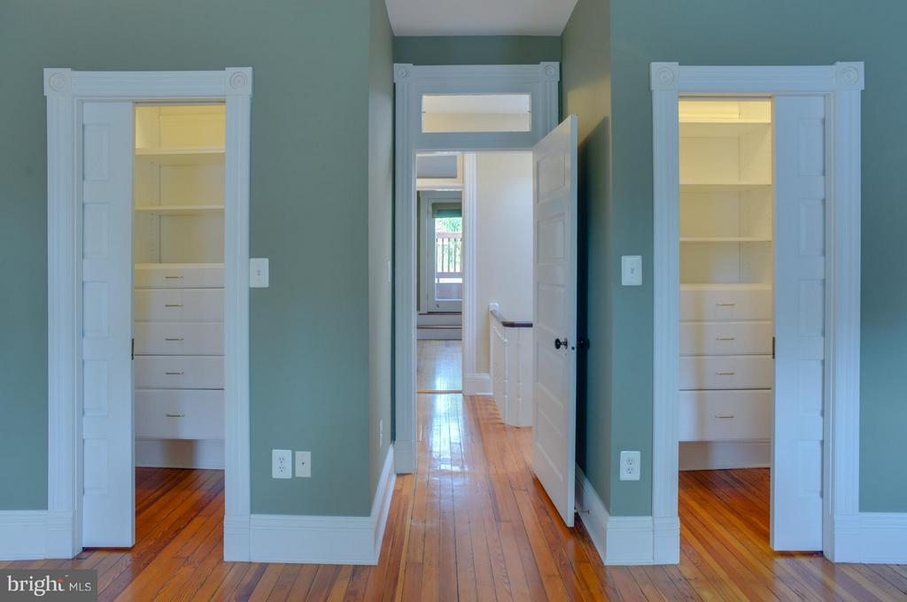Upper Floor Apt Closets - 1731 RIGGS PL NW, WASHINGTON