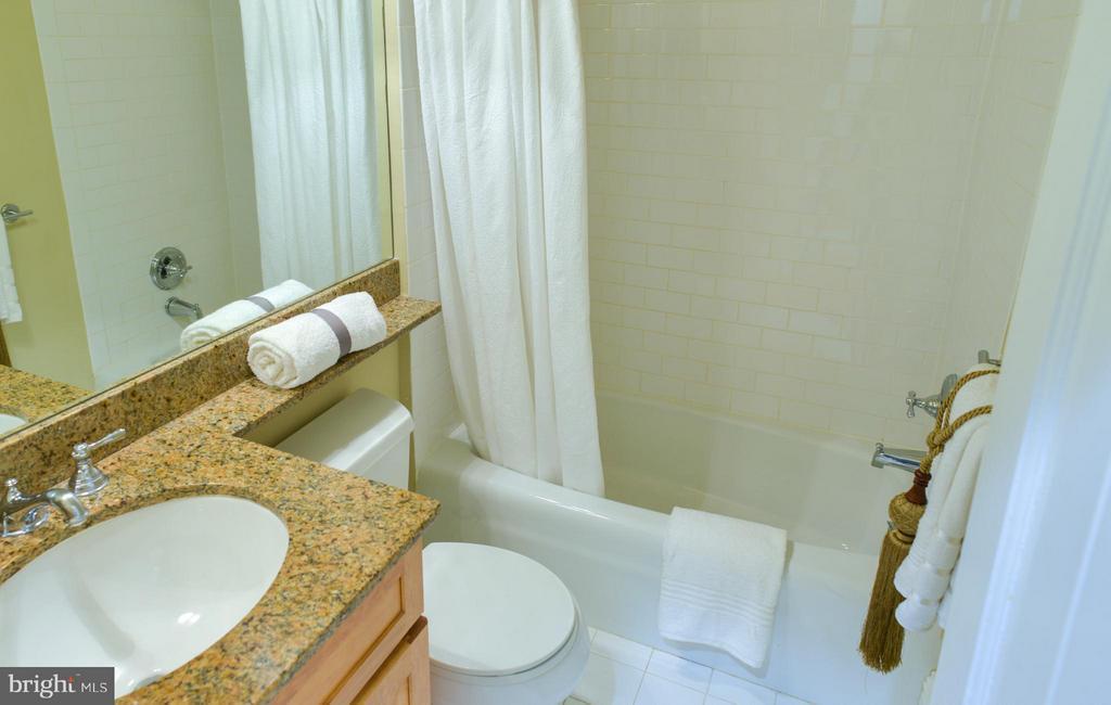 First Floor Apt Bathroom - 1731 RIGGS PL NW, WASHINGTON