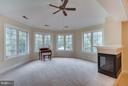 Owner's Sitting Area ft. Panoramic View! - 2793 MADISON MEADOWS LN, OAKTON