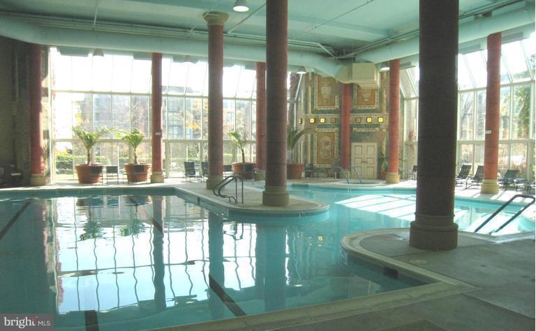 Delightful indoor pool in clubhouse - 19365 CYPRESS RIDGE TER #216, LEESBURG