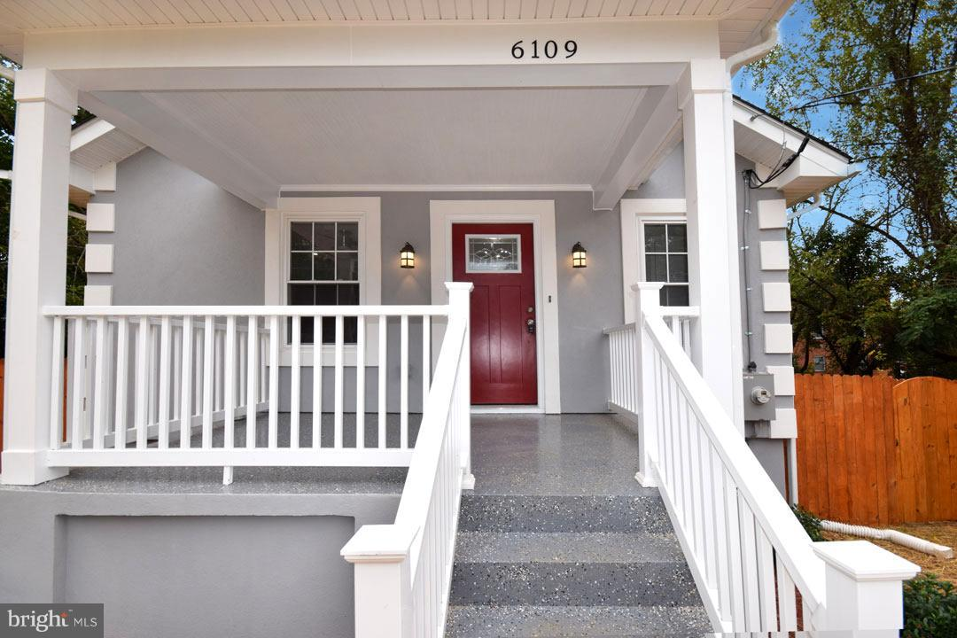 Photo of home for sale at 6109 Clay Street Ne, Washington DC