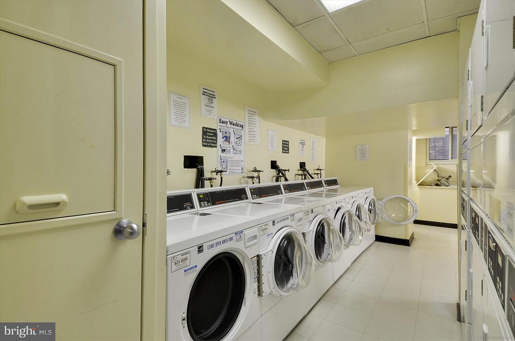 Laundry Facilities - 1727 MASSACHUSETTS AVE NW #316, WASHINGTON