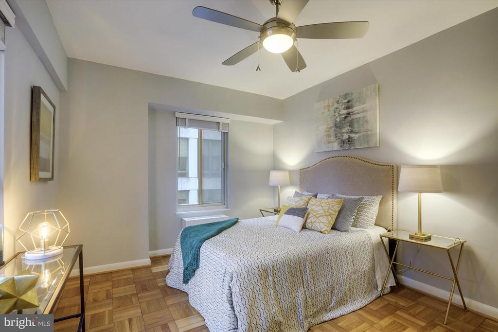 Bedroom - 1727 MASSACHUSETTS AVE NW #316, WASHINGTON