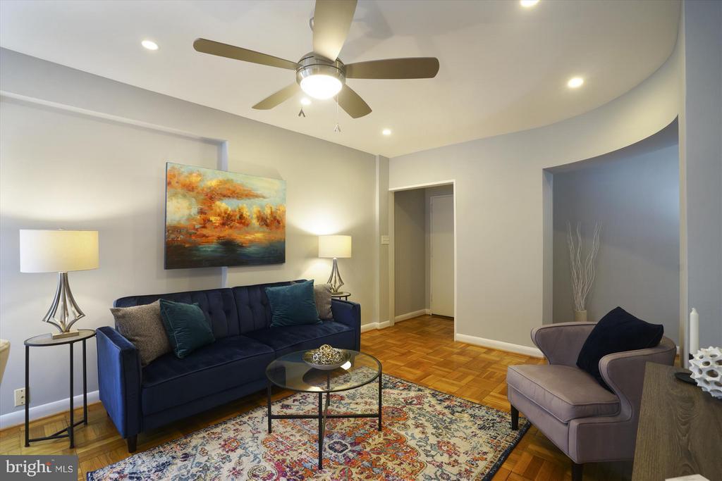 Living Room - 1727 MASSACHUSETTS AVE NW #316, WASHINGTON