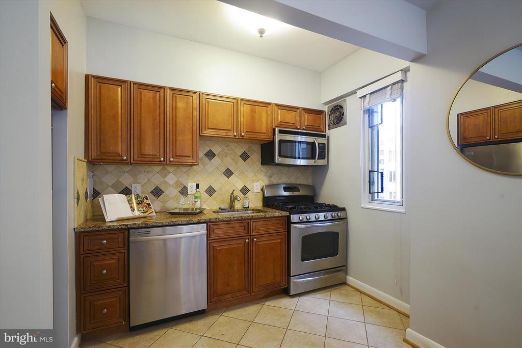 Kitchen - 1727 MASSACHUSETTS AVE NW #316, WASHINGTON