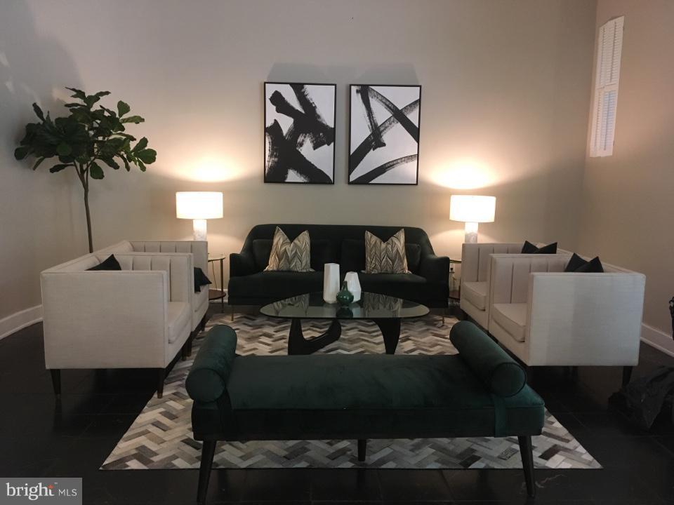 Renovated lobby with 24 hour concierge - 1727 MASSACHUSETTS AVE NW #316, WASHINGTON