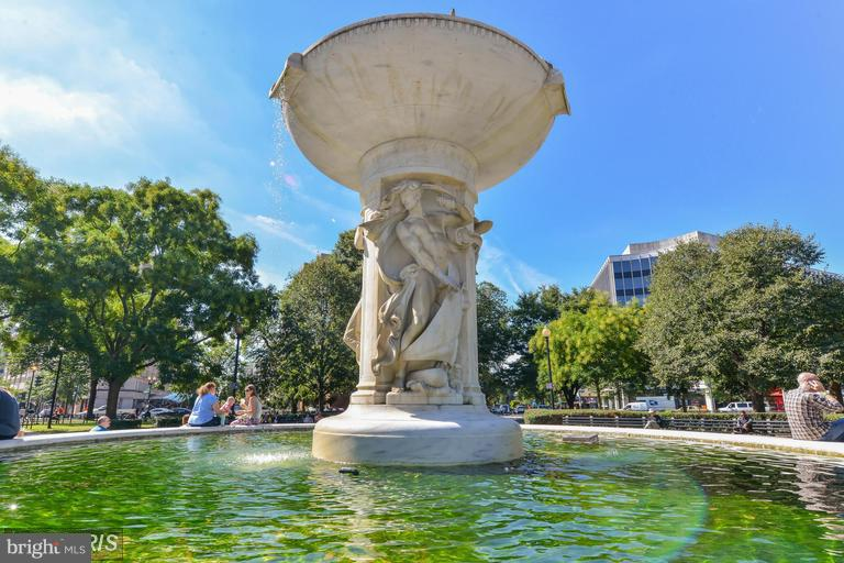 City parks all around you - 1727 MASSACHUSETTS AVE NW #316, WASHINGTON