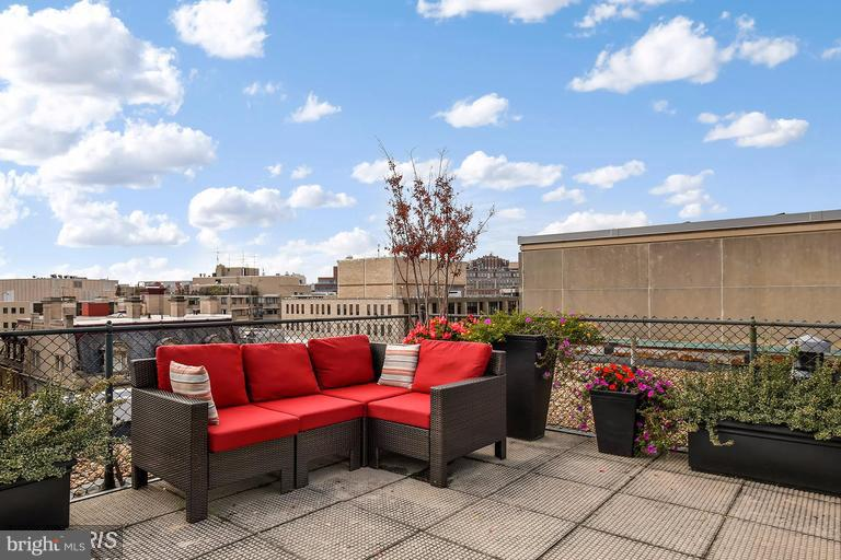 Luxury roof terrace with grill - 1727 MASSACHUSETTS AVE NW #316, WASHINGTON