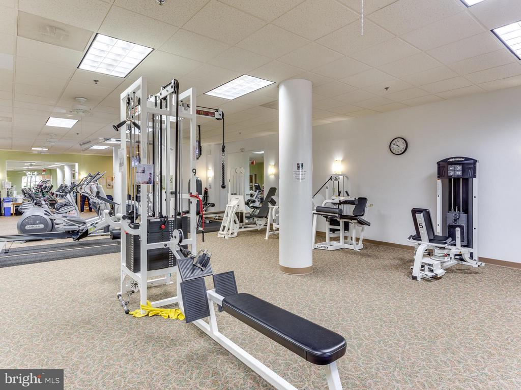 Stay Fit in the Exercise Room - 19355 CYPRESS RIDGE TER #601, LEESBURG