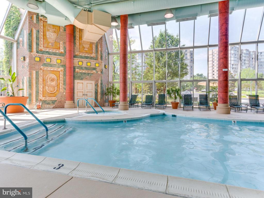 Swim Laps in the Large Indoor Pool - 19355 CYPRESS RIDGE TER #601, LEESBURG