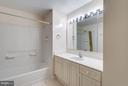 Master Bath with Separate Tub and Shower - 19355 CYPRESS RIDGE TER #601, LEESBURG