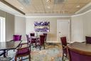 Building Lobby Has Space for Gathering - 19355 CYPRESS RIDGE TER #601, LEESBURG
