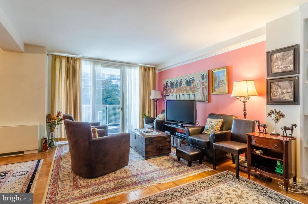 Living Room - 2475 VIRGINIA AVE NW #417, WASHINGTON