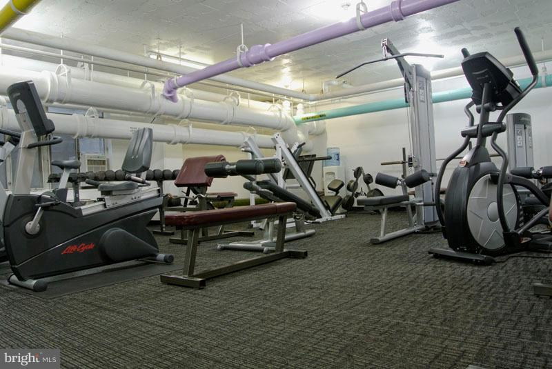 Fitness room - 2475 VIRGINIA AVE NW #417, WASHINGTON