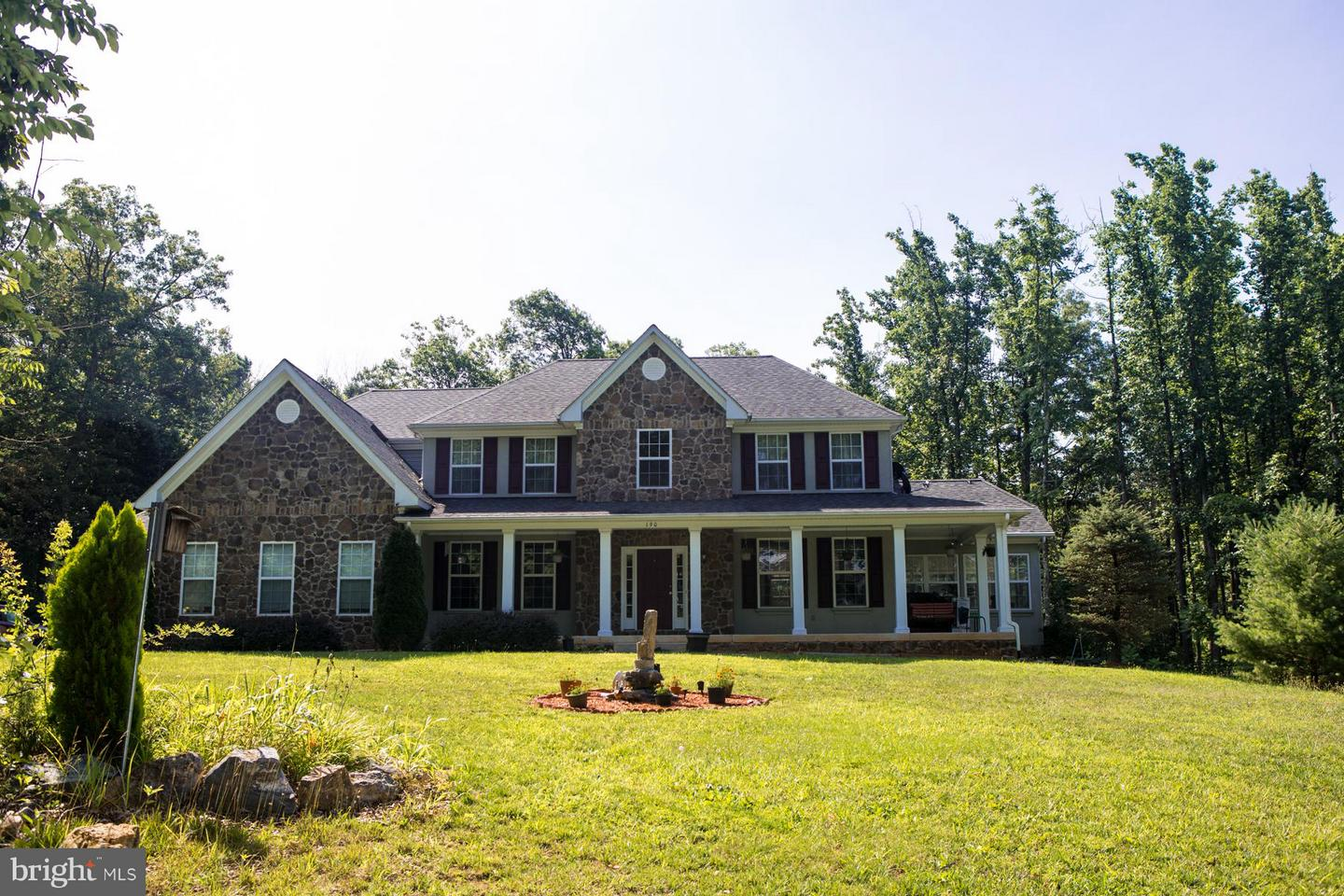 Photo of home for sale at 190 Newell Drive, Middletown VA