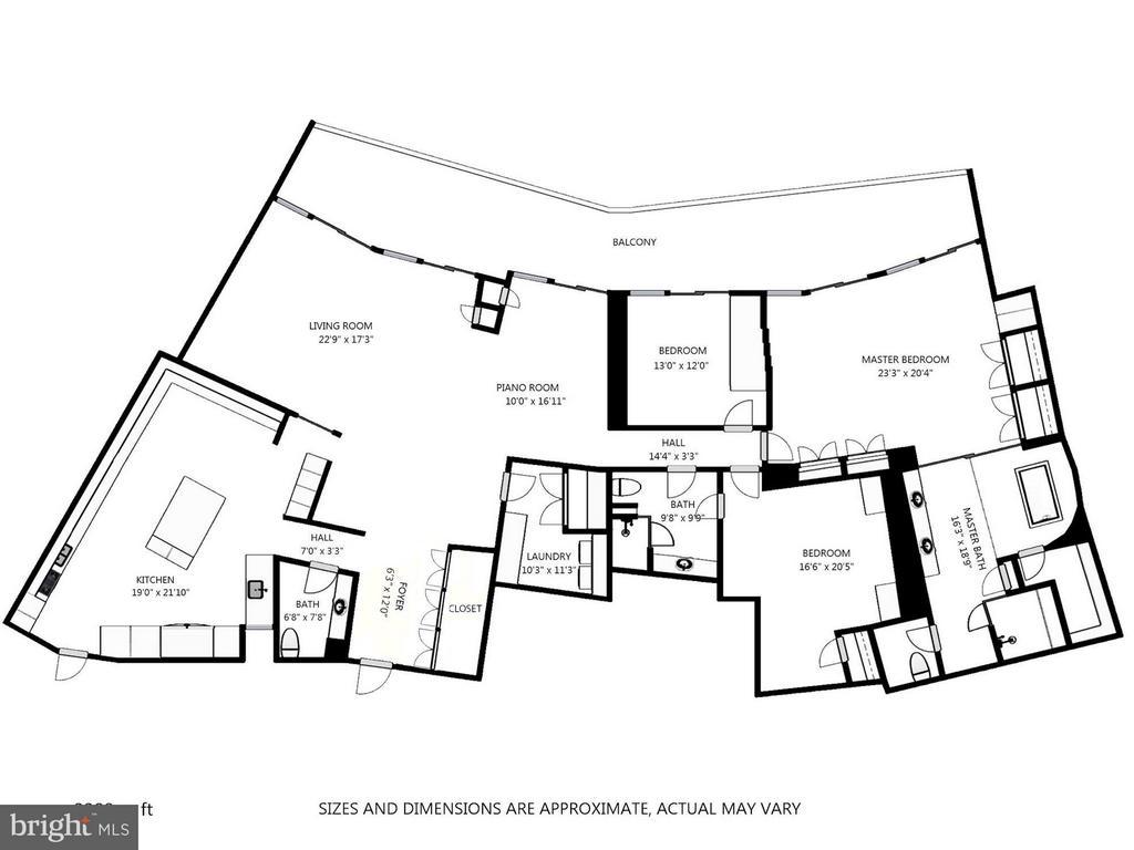 Floor Plans - 700 NEW HAMPSHIRE AVE NW #1021, WASHINGTON