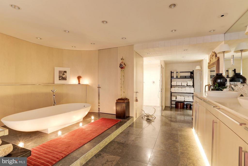 Master Bathroom w/ Soaking Tub and Separate Shower - 700 NEW HAMPSHIRE AVE NW #1021, WASHINGTON