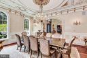 Formal Dining Room - 950 HICKORY RUN LN, GREAT FALLS