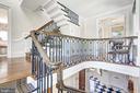 Walnut Mezzanine with Floating Box Staircase - 1607 28TH ST NW, WASHINGTON