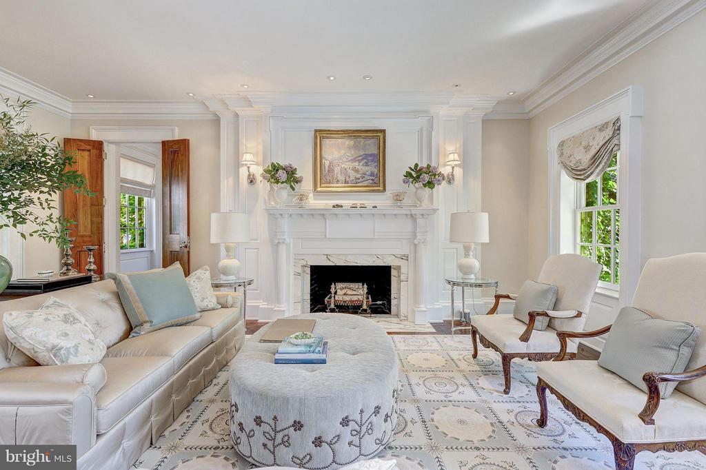 Formal Living Room - 1607 28TH ST NW, WASHINGTON