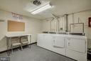 Community Laundry Room - 7843 ENOLA ST #112, MCLEAN