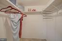 Master Bedroom Closet - 7843 ENOLA ST #112, MCLEAN