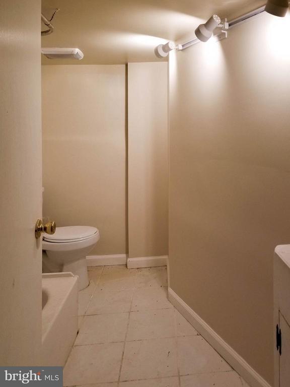 Basement Bath - 3008 16TH ST NE, WASHINGTON