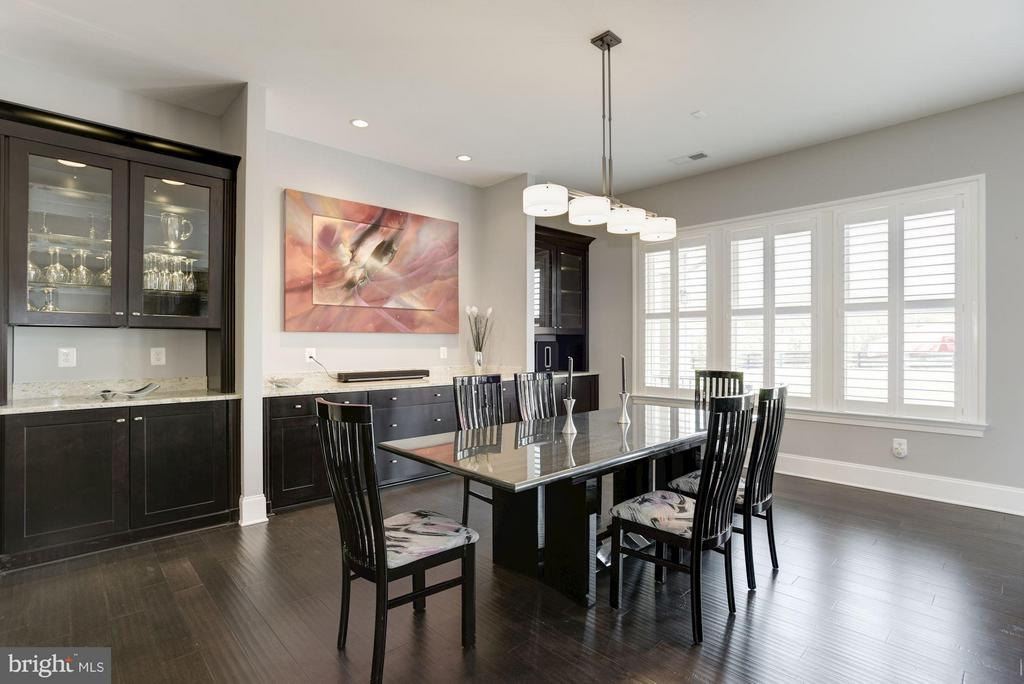 Dining Room - 23039 WELBOURNE WALK CT, ASHBURN