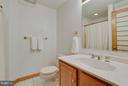 Lower Level Full Bath - 4601 FLOWER VALLEY DR, ROCKVILLE